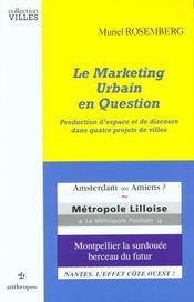 Le Marketing Urbain En Question - Intérieur - Format classique