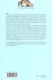 Psychanalyse Comme Connaissance (La) - 4ème de couverture - Format classique