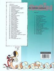 Léonard t.22 ; cadeau de génie - 4ème de couverture - Format classique