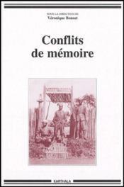 Conflits de mémoire - Couverture - Format classique