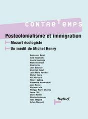 Revue contre-temps t.16 ; postcolonialisme et immigration - Intérieur - Format classique