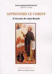 Apprendre le christ - Couverture - Format classique