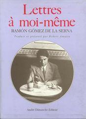 Lettres A Moi-Meme - Intérieur - Format classique