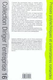 Adjuger un marche public au mieux-disant ; analyse multicritere, pratique et droit des marchés publics - 4ème de couverture - Format classique