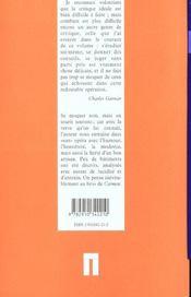 Le nouvel Opéra - 4ème de couverture - Format classique