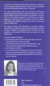 Le Guide Des Organismes De Formation Continue. Management, Efficacite Professionnelle, Informatique - 4ème de couverture - Format classique