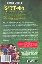 Barry Trotter T.2 ; Barry Trotter et la suite inutile - 4ème de couverture - Format classique