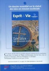Revue Biblia ; La Conversion De Paul - 4ème de couverture - Format classique