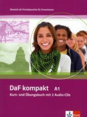 DAF Kompakt ; allemand ; a1 ; livre de l'élève + 2 cd - Couverture - Format classique