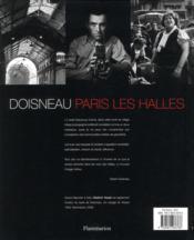 Paris les halles - 4ème de couverture - Format classique
