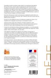 Revue Francaise Des Affaire Sociales ; Droit Européen Et Droit Sociaux T.1 - 4ème de couverture - Format classique