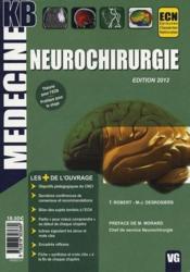 Kb Neurochirurgie Edition 2012 - Couverture - Format classique