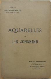 AQUARELLES PAR J.-B. JONGKIND. Vente du mercredi 17 décembre 1902. - Couverture - Format classique
