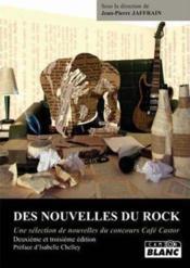 Des nouvelles du rock (2e et 3e édition) - Couverture - Format classique