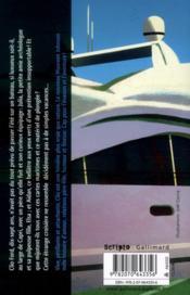Une fille à la mer - 4ème de couverture - Format classique