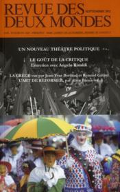 Un nouveau theatre politique - Couverture - Format classique