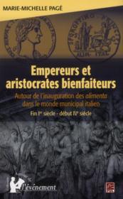 Empereurs Et Aristocrates Bienfaiteurs - Couverture - Format classique