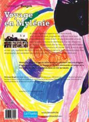 Voyage en Mylénie - 4ème de couverture - Format classique