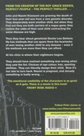 Perfect People - 4ème de couverture - Format classique