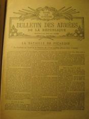 Bulletin des Armées de la République. Réservé à la zone des Armées. (2e année, n° 202). - Couverture - Format classique