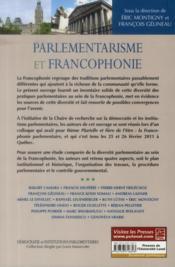 Parlementarisme Et Francophonie - 4ème de couverture - Format classique