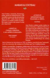 Cocteau & Marais - 4ème de couverture - Format classique