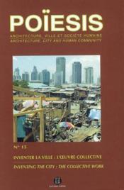 Inventer la ville : l'oeuvre collective - Couverture - Format classique