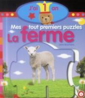 Mes tout premiers puzzles ; la ferme - Couverture - Format classique