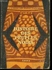 Histoires Des Peuples Noirs - Couverture - Format classique
