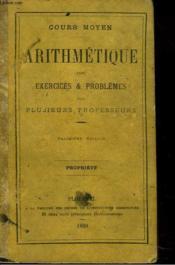 ARITHMETIQUE, THEORIE ET PRATIQUE. COURS MOYEN. 4e EDITION - Couverture - Format classique