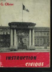 INSTRUCTION CIVIQUE. CLASSE DE 5e. - Couverture - Format classique
