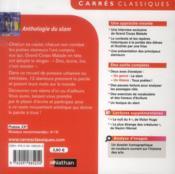 Anthologie du slam - 4ème de couverture - Format classique