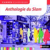 Anthologie du slam - Couverture - Format classique