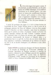 Echec Au Roi. L'Art De Raconter La Violence Dan Le Livre Des Juges - 4ème de couverture - Format classique