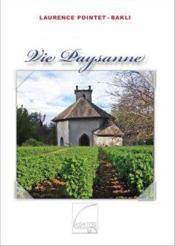 Vie paysanne - Couverture - Format classique