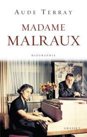 Madame Malraux - Couverture - Format classique