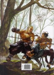 Samurai ; INTEGRALE VOL.2 ; T.5 A T.8 ; deuxième cycle - 4ème de couverture - Format classique