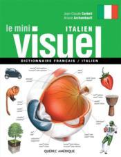 Le mini visuel ; dictionnaire français / italien - Couverture - Format classique