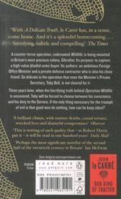 A Delicate Truth* - 4ème de couverture - Format classique
