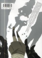 Gangsta T.4 - 4ème de couverture - Format classique