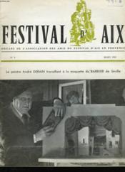 Festival D'Aix N°5 - Couverture - Format classique