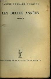 Les Belles Annees - Couverture - Format classique