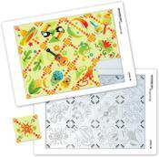 Puzzle à la manière de l'art mexicain - Couverture - Format classique