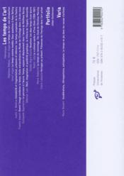 Marges N.19 ; Les Temps De L'Art - 4ème de couverture - Format classique