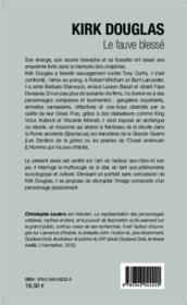 Kirk Douglas, le fauve blessé - Couverture - Format classique
