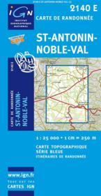 Saint-Antonin-Noble-Val - Couverture - Format classique