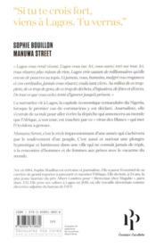 Manuwa street - 4ème de couverture - Format classique