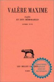 Faits & dits memorables t2 l4-6 - Couverture - Format classique