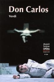 L'avant-scène opéra N.244 ; Don Carlos - Intérieur - Format classique