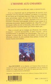 L'Homme Aux Gniasses Et Autres Recits De La Nuit - 4ème de couverture - Format classique
